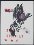 Nancy Spero Kill Commies, 1988 Color Lithograph