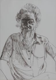 Alice Neel Benny Andrews 1978 Lithograph