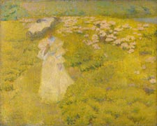 Philip Leslie Hale A Walk through the Fields 1895 oil on canvas