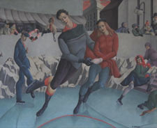 Mariam Barer The Skaters Oil on canvas  n. d.