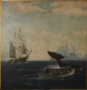 Harpooning a Whale, 1924, Thomas F. Petersen