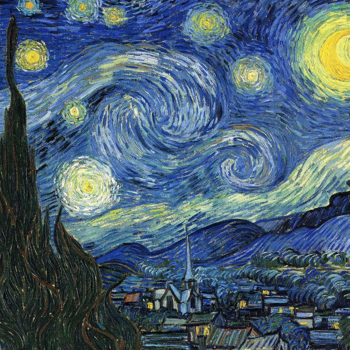 Van Gogh's Starry Night: From Spiritualized Nature to Higher Abstraction