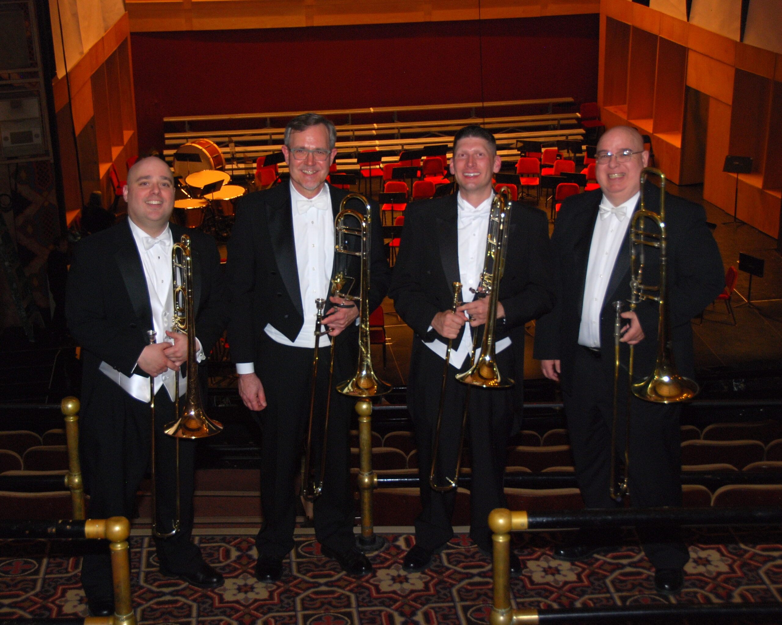 Music in the Garden with TECSO - Trombones of the Eastern CT Symphony
